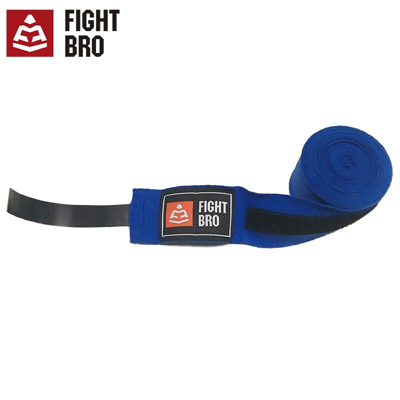 FIGHTBRO飞特氏拳击绑带 拳击散打自由搏击护具纯棉Sweat系列绑手带4.5米F253