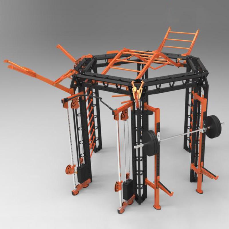 施菲特SevenFiter模块化3D空间训练站(六角) SF6201